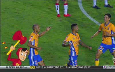 El Chapulín Colorado trae los mejores momentos del Tigres vs. Veracruz