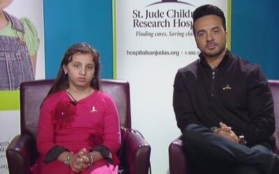 Luis Fonsi promueve la campaña para ayudar a niños con cáncer y pide no...
