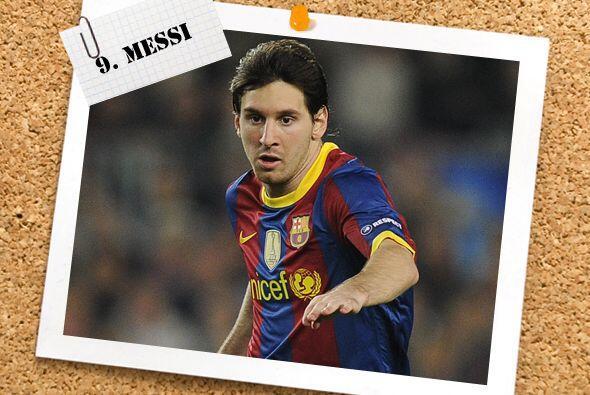 En la delantera, Lionel Messi marcó un doblete ante el Copenhague y alca...