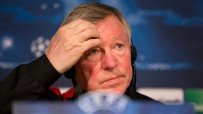 Ferguson habló ante los medios previo al duelo de los 'Red Devils' ante...
