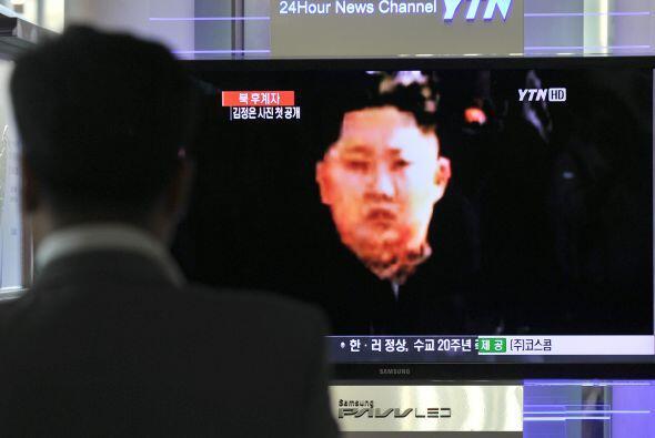 31 marzo.- El líder norcoreano, Kim Jong-un, defiende la ampliaci...