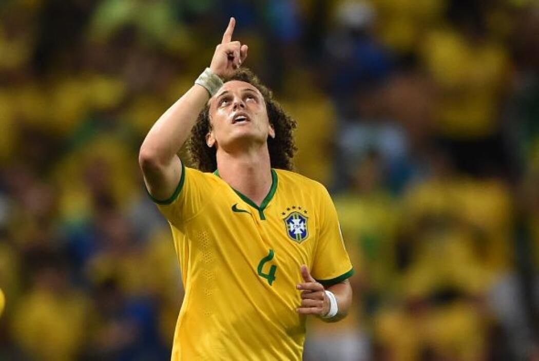 David Luiz fue una de las estrellas del combinado Carioca, pero sus esfu...