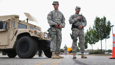 El gobernador de Missouri ordenó la retirada de la Guardia Nacional