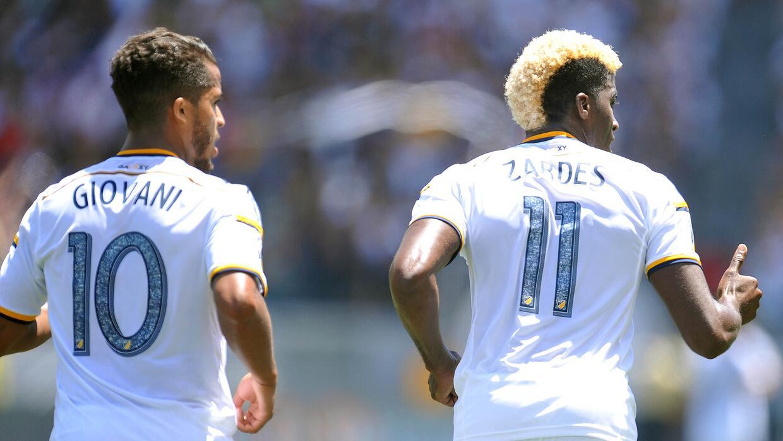 Imágenes del debut de Giovani dos Santos en la MLS