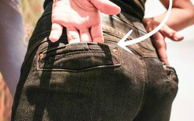 En busca (del misterio) de los jeans levantacola colombianos