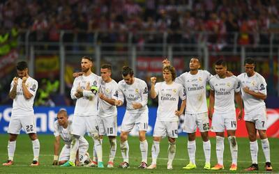 Los jugadores del Real Madrid mostraron personalidad en los penales.