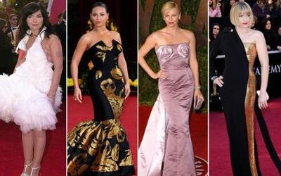 Nadie quiere pasar desapercibido en una alfombra, ¡pero estos famosos ja...