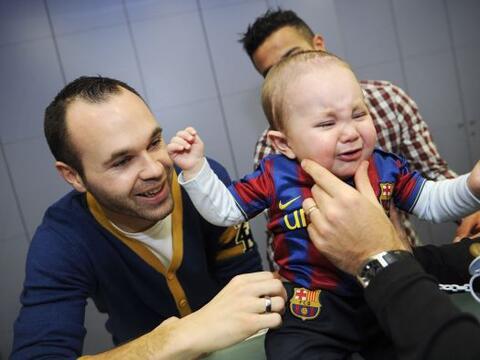 Iniesta hospital infantil