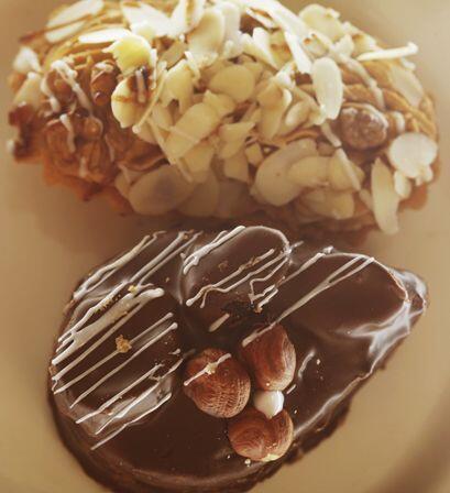Galletas de jengibre y chocolate, son las tradicionales para ofrecer a l...