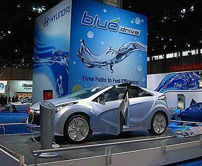 Hyundai Blue-Will ConceptHyundai nunca tuvo miedo a la hora de diseñar s...