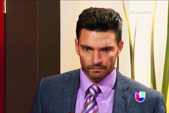 ¿Enojado Patricio? Salvador se está ganando el cariño de tu prometida.
