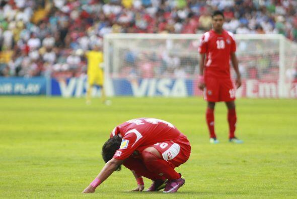 Tristeza panameña en el Mundial Sub 17, el seleccionado cayó ante Aleman...