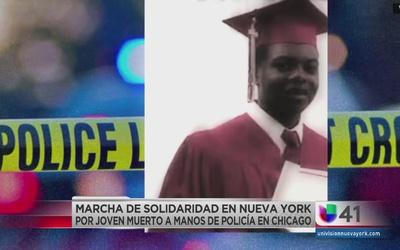 Solidarios por muerte de joven en Chicago