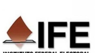 Logo del Instituto Federal Electoral de México.