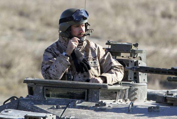 La Brigada de Infantería Mecanizada 'Guzmán el Bueno' X, ubicada en Cerr...