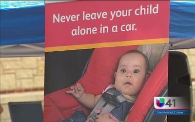 Alertan sobre el peligro de dejar a menores dentro de un vehículo