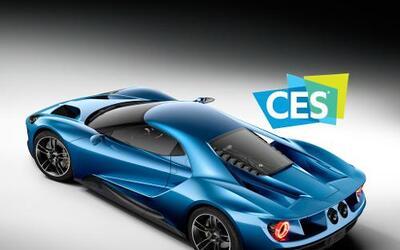 El deportivo del óvalo se ha convertido en el vehículo oficial del CES 2016