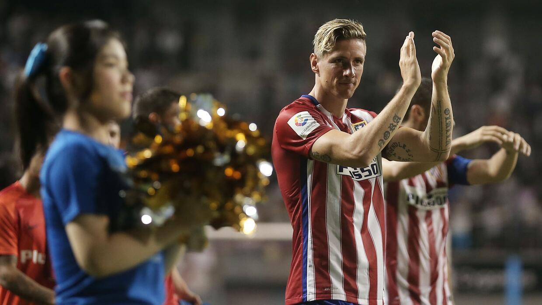 Atlético de Madrid mostró buen fútbol en su retorno.