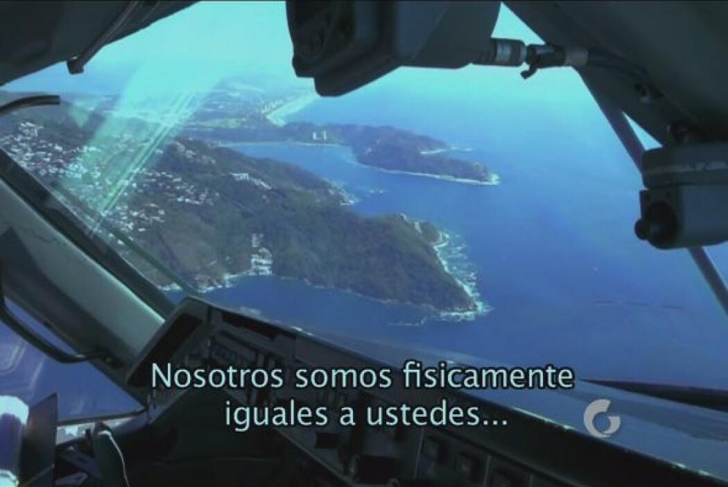 Una grabación donde supuestamente se apoderan del cuerpo de un piloto y...