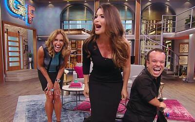 Lili Estefan abrió el show sin Raúl y su invitada especial llegó en la m...