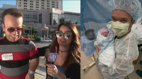 'Acaba de nacer y ya tiene mi tamaño', así reaccionó Carlitos 'El Produc...