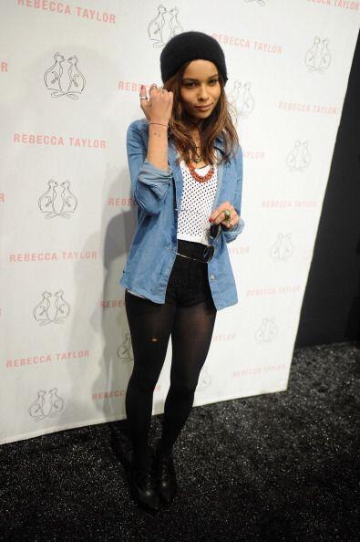 La hija del músico Lenny Kravitz y la actriz Lisa Bonet, se llama...