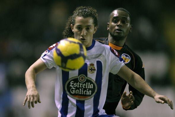 En la Jornada 14 de la campaña 2007-2008 se enfrentaron Carlos Ve...
