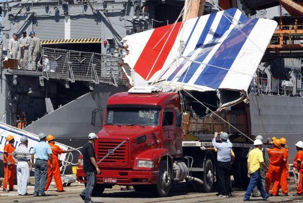 El Airbus A330 de Air France cayó al Atlántico sur el 1 de...