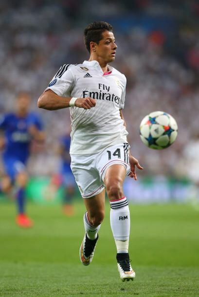 Javier 'Chicharito' Hernández no seguirá con el Real Madrid y como no cu...