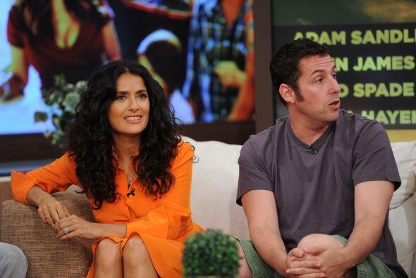 Salma y Adam son grandes amigos y les encanta trabajar juntos.