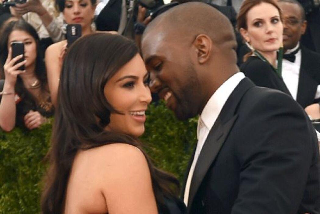 Ahora toda la atención está centrada en el matrimonio de Kim con el rapero.