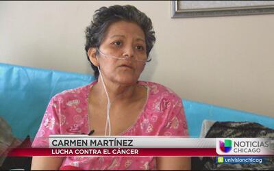 Mujer hispana lucha ferozmente contra el cáncer de mama