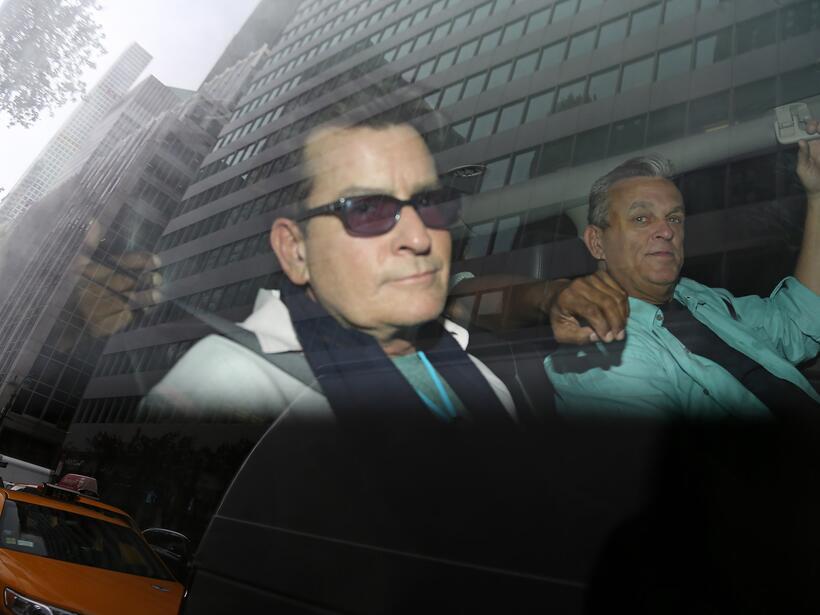 Charlie Sheen después de declaraciones