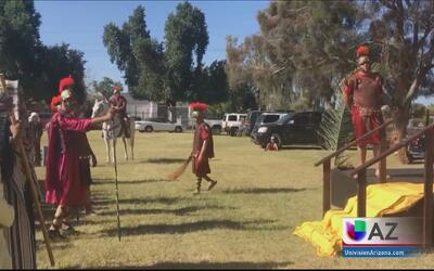 Iglesias en el Valle conmemoran el Viernes Santo una de las celebracione...