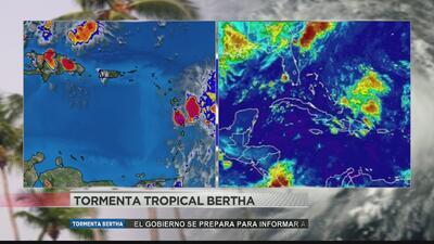 Bertha llegará a Puerto Rico en la mañana del sábado