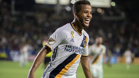 Doblete de Gio dos Santos para la victoria parcial de LA Galaxy ante RSL.