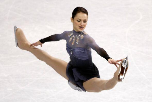 La sexi patinadora Alexandra Cohen, mejor conocida como Sasha, naci&oacu...