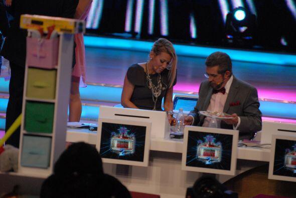 Fanny Lu y el 'Flaco' Ibáñez estaban muy entretenidos compartiendo su pl...
