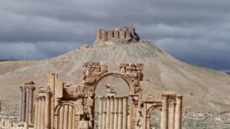 El Arco del Triunfo de Palmira tenía más de 2,000 años de antigüedad.