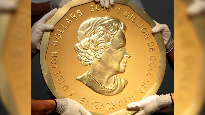 Roban la moneda de oro más grande del mundo en Alemania