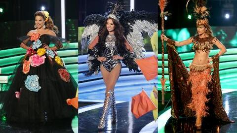 Muy felices de representar la cultura latina, las bellas se lucieron con...