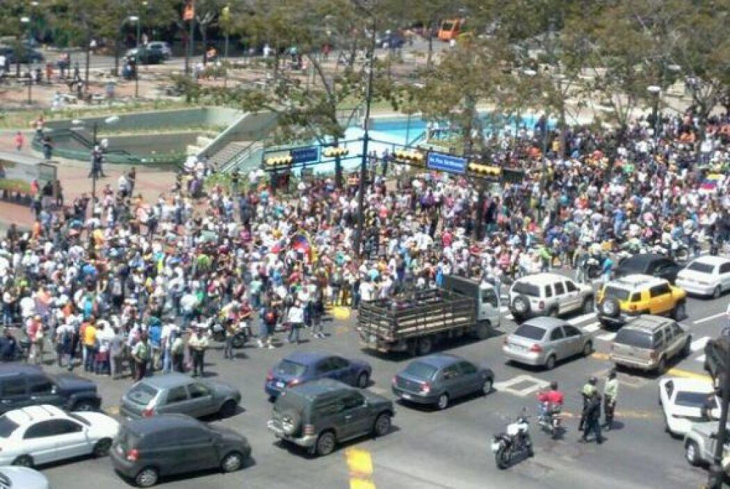 Viviana Escobar publicó en su cuenta de Twitter una manifestación contra...