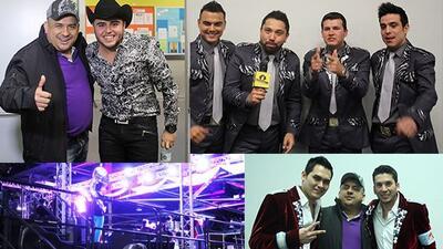 El Wey cachó a Gerardo Ortiz y Al Recodo antes de subir al escenario en...