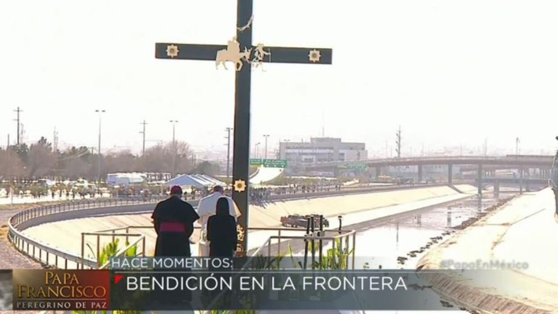 El Papa Francisco visita la frontera