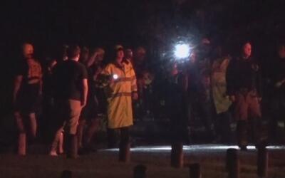 Rescatadas personas que habían desaparecido en el Sandy Lake Park
