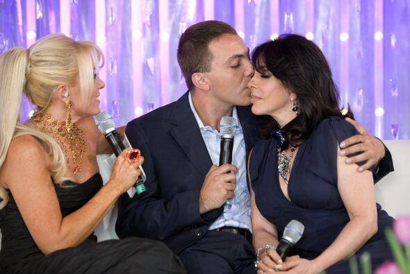 El divorcio de Cristian y Valeria provocó un distanciamiento entre el ca...