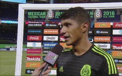 """Cándido Ramírez: """"Le doy las gracias a Osorio que me da la confianza y o..."""