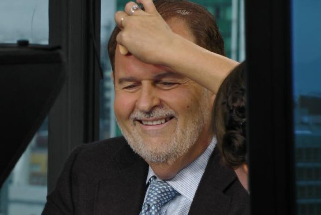 Raúl de Molina viajó a la Ciudad de México para realizar enlaces en vivo...