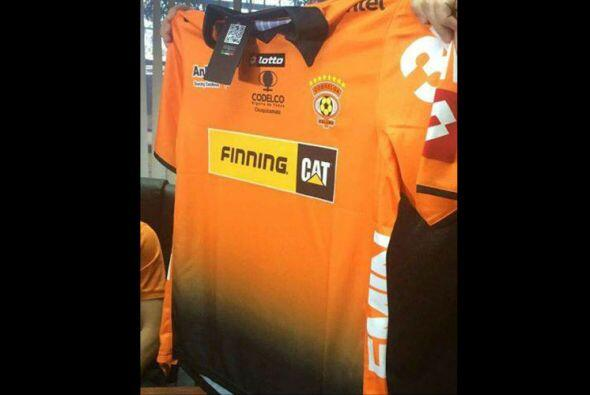El Cobreloa de Chile tendrá un diseño degradado de naranja a negro que p...