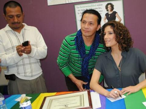 La corresponsal de Primer Impacto Daniela Ganoza es la nueva portavoz de...